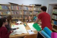 zajęcia w bibliotece w Jodłówce 001