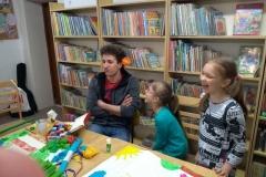 zajęcia w bibliotece w Jodłówce 006