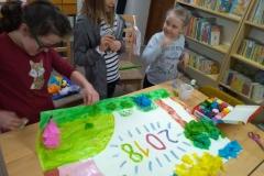 zajęcia w bibliotece w Jodłówce 011