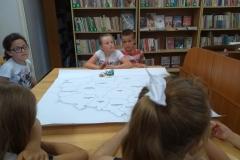 zajęcia w bibliotece w Jodłówce 030