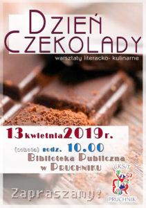 dzień czekolady plakat